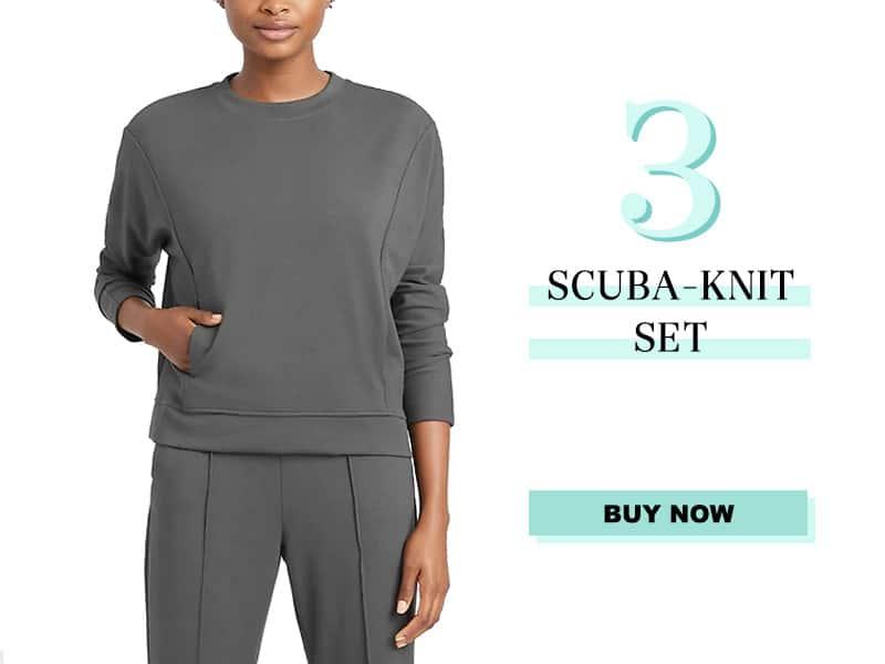 Banana Republic Scuba Knit Set