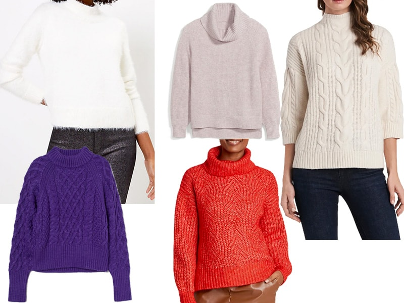 5 Sweaters for the Holidays