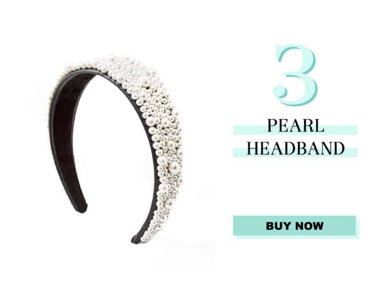 Pearl Headband from White House Black Market