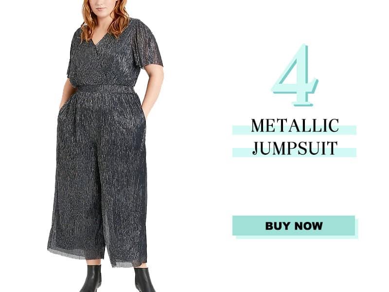 Banana Republic Metallic Jumpsuit