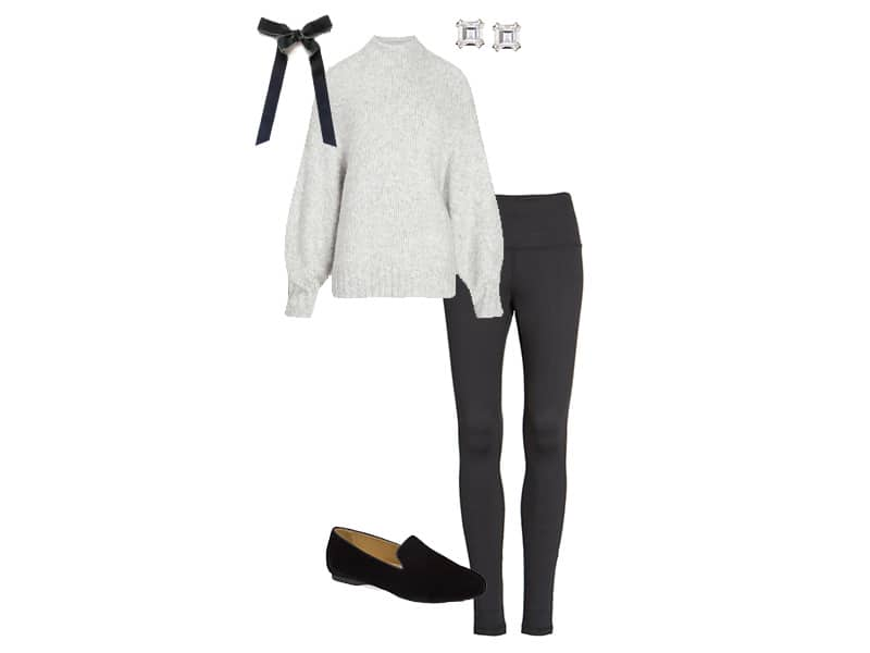 How to wear leggings for the holidays