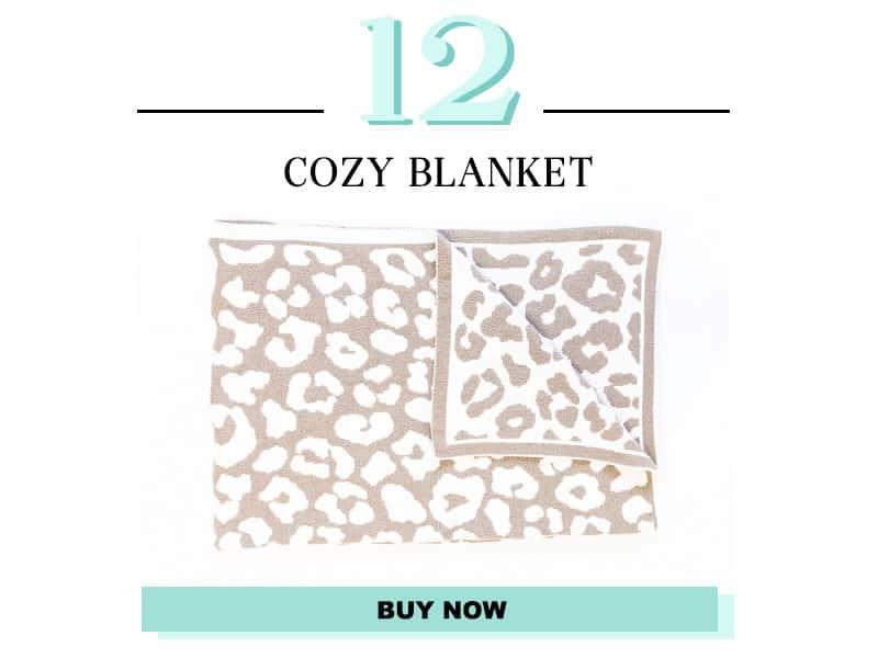 Leopard Print Blanket