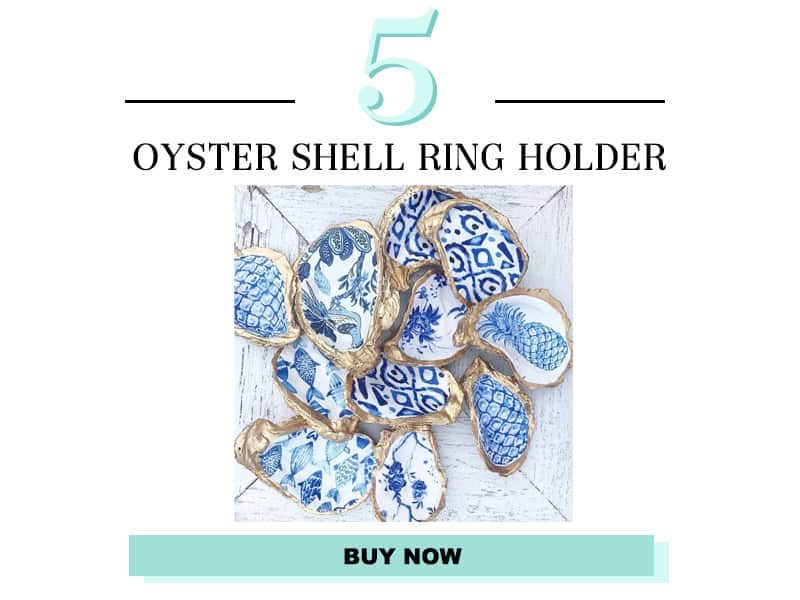 Oyster Shell Ring Holder