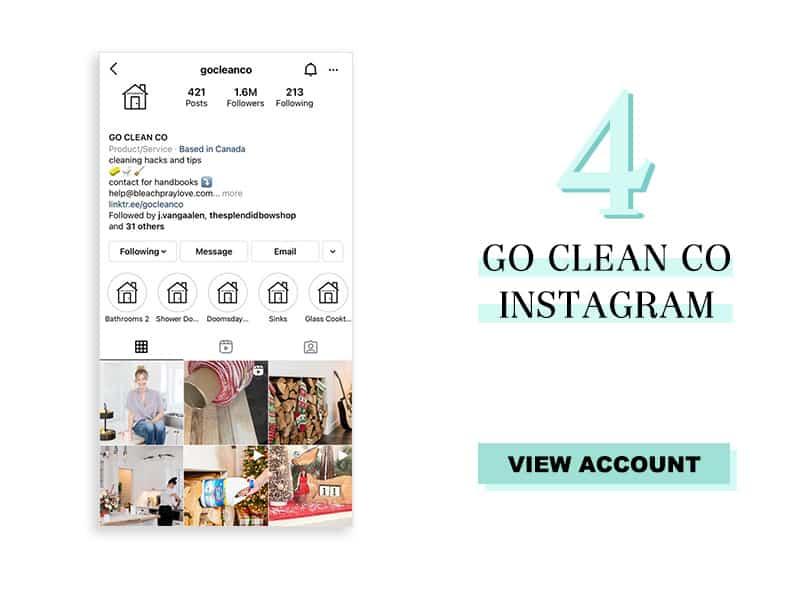 Go Clean Co Instagram