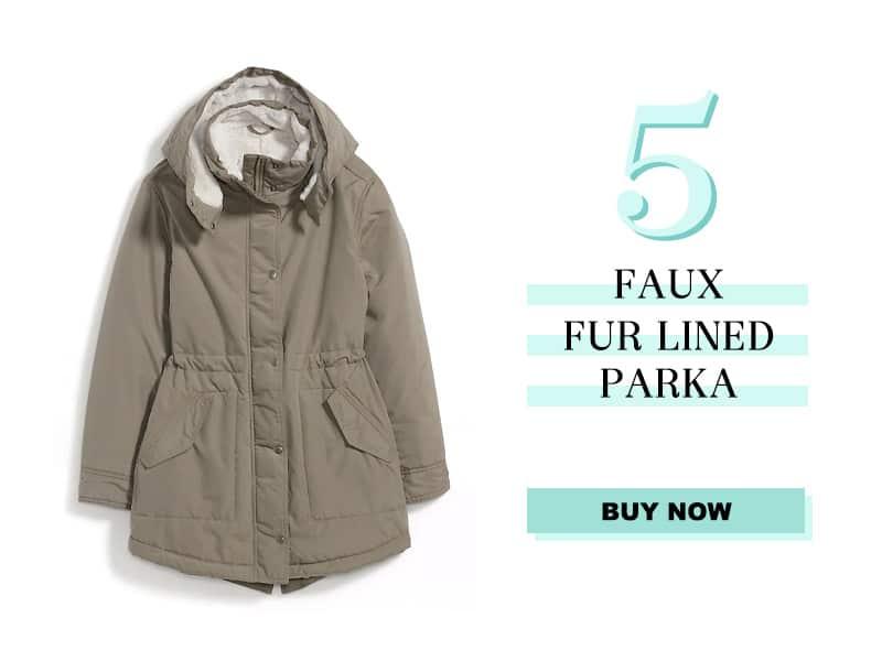 Old Navy Fur Lined Parka