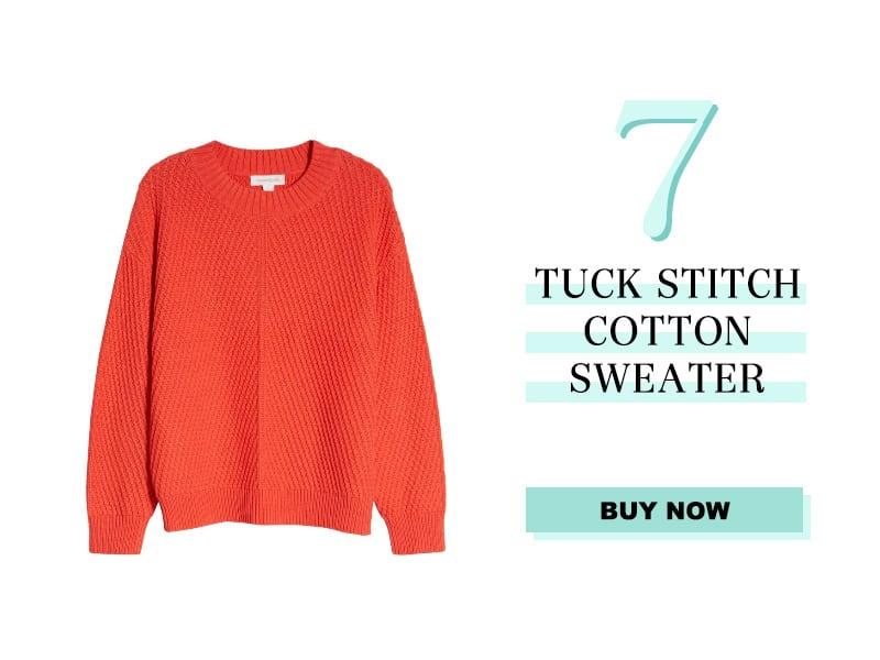 Nordstrom Tuck Stitch Sweater