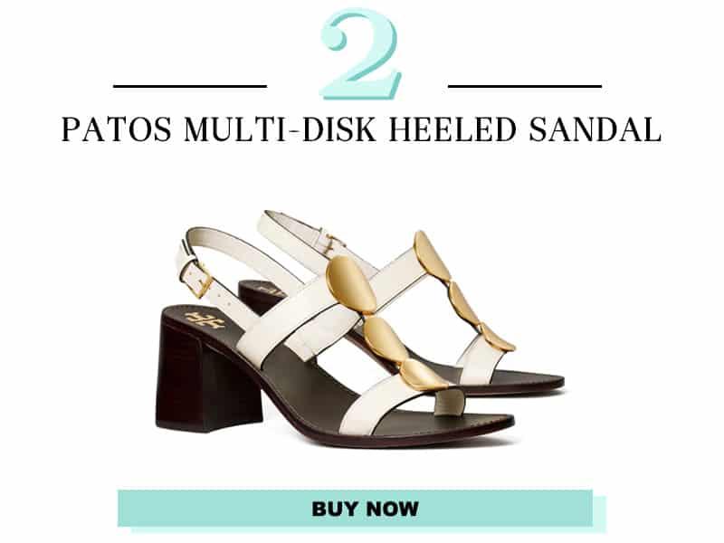 Tory Burch Patos Multi-Disk heeled sandal
