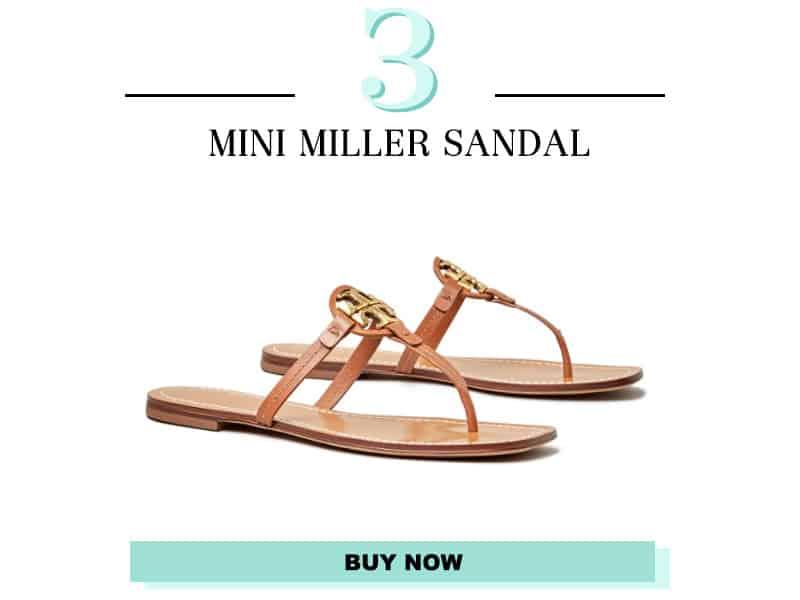 Tory Burch Mini Miller Sandal