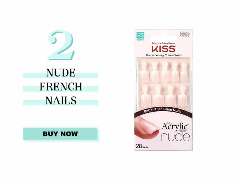 Nude French Nails