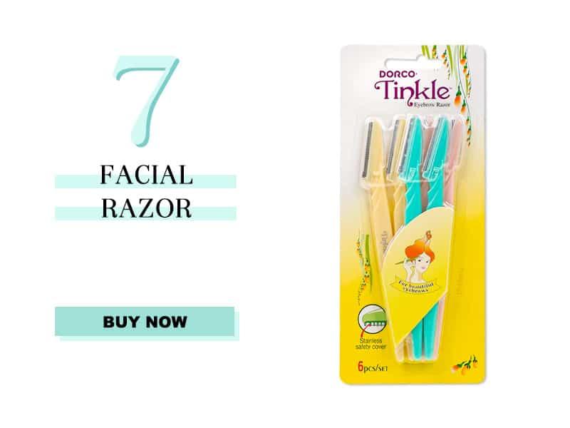 Tinkle Facial Razors