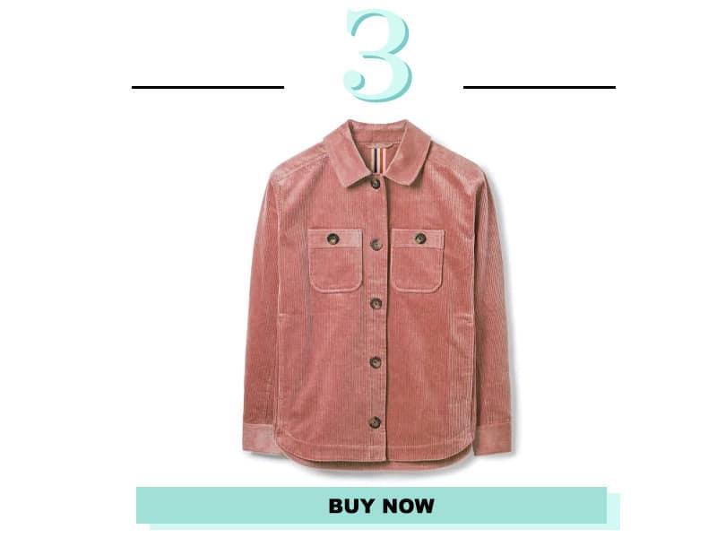 Boden Pink Shacket