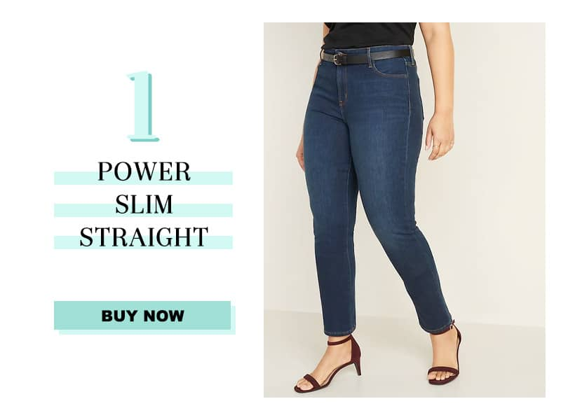 Old Navy Power Slim Straight Jeans