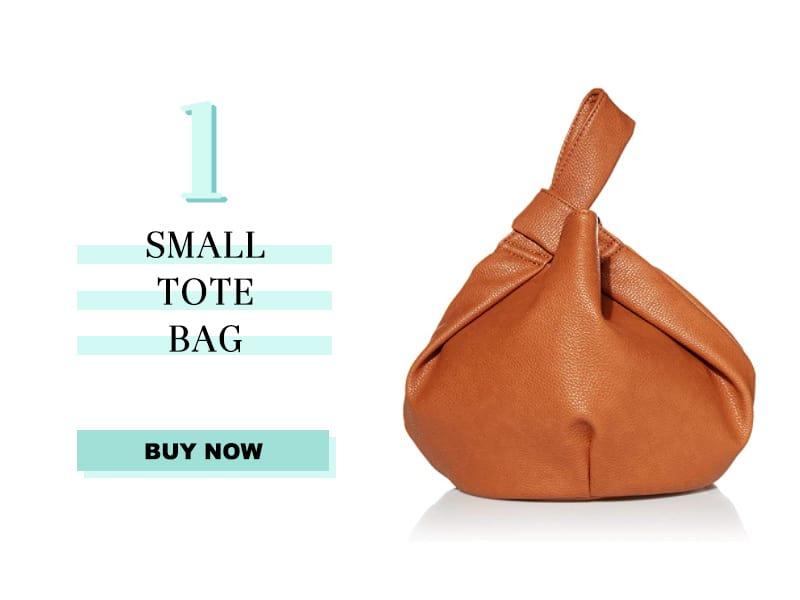 Small Tote Bag in Tan
